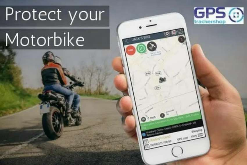 Bike Find Trace Locate Anti-theft device ZERO MONTHLY pta approved ime 0