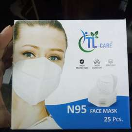 N95 face mask 25pcs