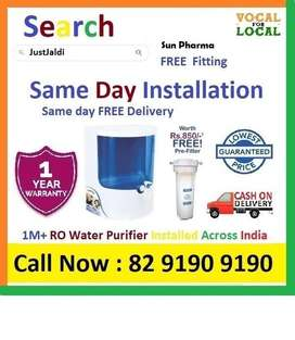 Sun Pharma RO Water Purifier Water Filter Dolphin  COD. Free Delivery.