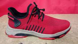New  Red and Grey Fashion sports shoes