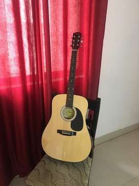 Acoustic Guitar- Squier by Fender SA 105 with accessories