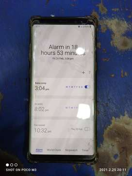 Samsung Galaxy Note 8 with original fast charger