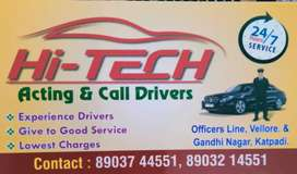 Hi-Tech acting & call drivers service