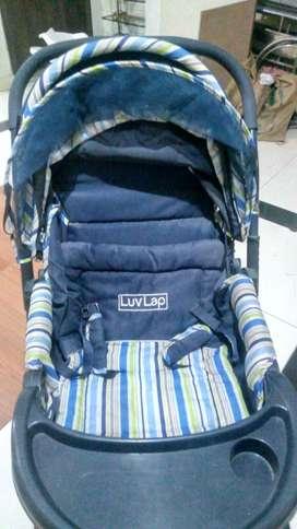 Luvlap Stroller foldable