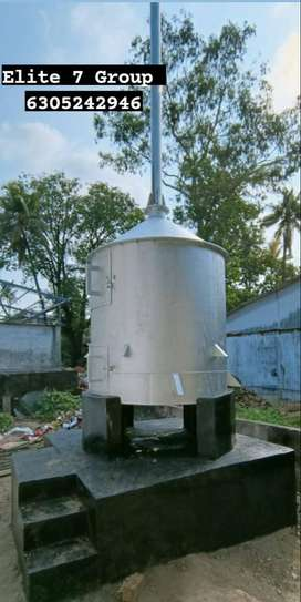 Stainless Steel incinerator Waste Management Plant with warranty