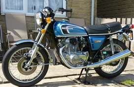 Antique & Vintage Honda CB 250 G5 1979 bike