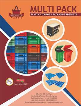 Plastic Crates and Baskets and  Plastic Pallets Factory