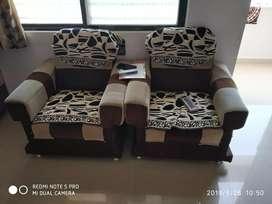 Five seat sofa set