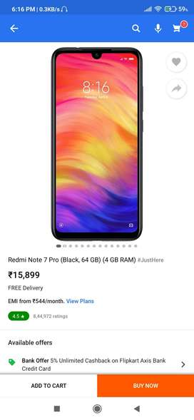 mi note 7 pro 4 / 64   FOR EXCHANGE
