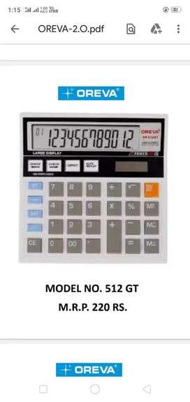 Calculator oreva