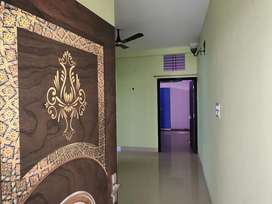 2 bhk flat with space for parking and separate entry and exit