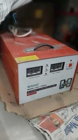 Stabilizer 7500 watt