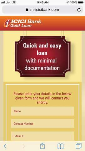 contact for gold loan
