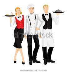 FREE JOB Waiter Need 5 Star Hotel & catering call 76786790 three four