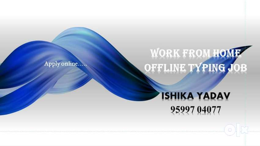 OFFLINE TYPING JOB-Part Time Job-Handwriting Work-Work From Home 0