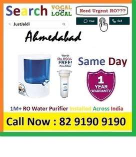 Ahmedabad RO Water Purifier Water Filter dth 9L bed L - car    Click