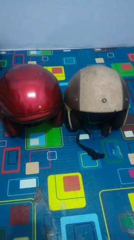 Helm tanpa kaca