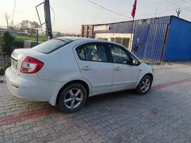 White elegant horse model SX4 zxi in very neat and clean condition