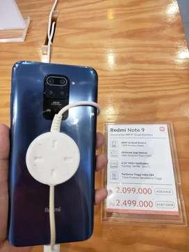Xiaomi Redmi Note 9 6/128GB garansi resmi bisa kredit