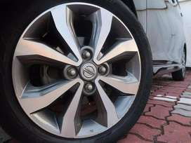 Nissan Genuine Alloy Rims Imported 15' Inches with Tyres 165 55 R15