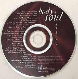 CD audio ori Sexy Soul Men Body&Soul compilation (soul/R&B) - no box