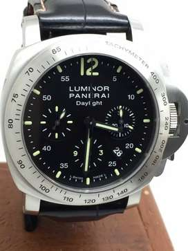 Panerai PAM 250 chronograph with card