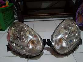 Headlamp nissan march 2010-2013