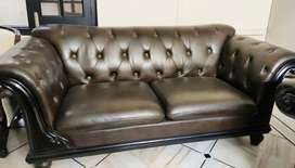 Pure Leather Sofa ( 7 seater)