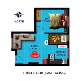 Hurry Only a few Left  1BHK Apartments for Sale at Anakputhur