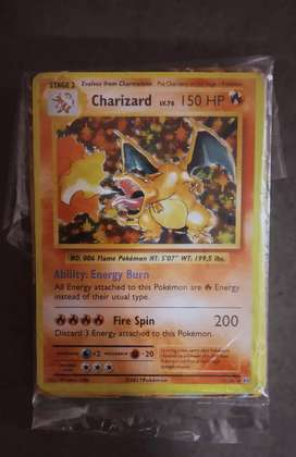 Pokemon Cards Charizard Non holo