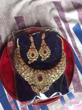 I sell my new bridal jewellery