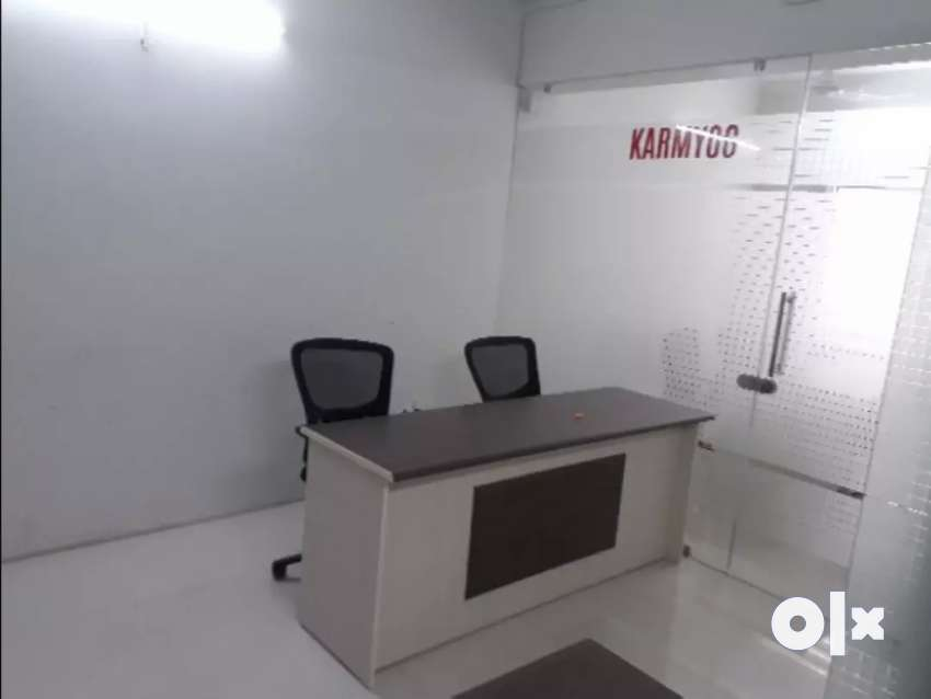 530 sqft Furnished office On rent at Gurukul 0