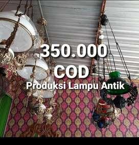 Produksi Lampu Gantung Antik Klasik Hias Joglo Gebyok  Gasebo