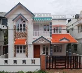 Family Villa near Vallathol Jn, Kakanad, Infopark, Kochi