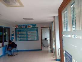 Space for Rent (Partitioned - 40000/- & Full Area-75000/-)Pookunnam