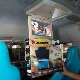 TV  plafon layar besar