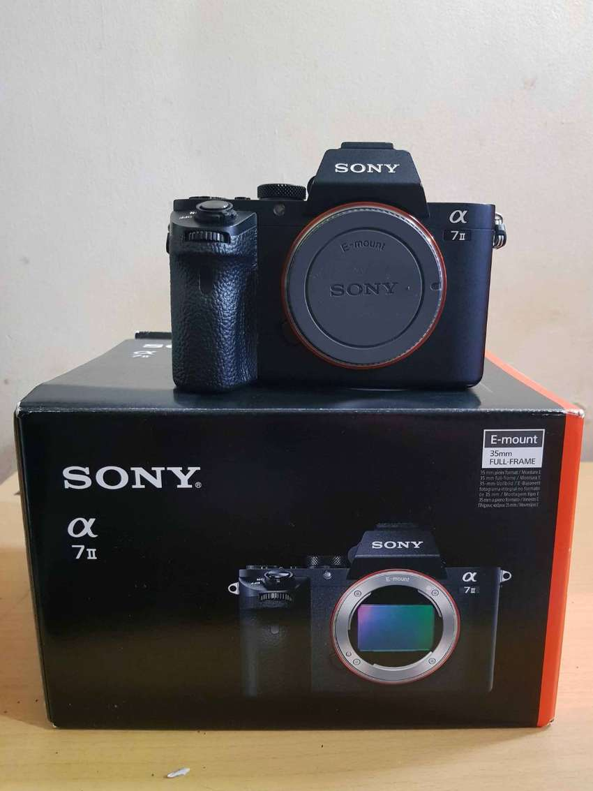 Sony a72/Sony a7ii/ Sony a7mkii/ Body Only, Mulus 0