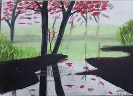 Scenery by Child Artist