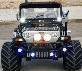 Modified open jeeps Modified Thar Gypsy modified AC jeeps