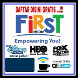 Firstmedia (Homeinternet Dan Tv cabel)