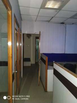 1200 sqft furnished office in district center Janakpuri in 70000 rs