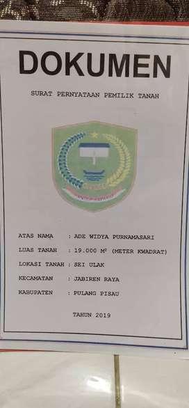 Dijual Murah tanah lokasi Strategis di Kalimantan Tengah