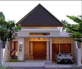 Rumah dalam Perumahan di Sleman Tepi Jalan Raya