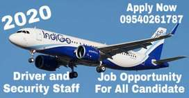 REQUIRED IN ALL AIRPORT DRIVER AND SECURITY STAFF IN INDIGO AIRLINE