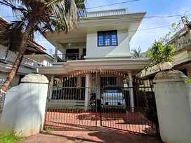 Mannuthy  1350Sqft, Semifurnished villa ,Thrissur -45Lakhs