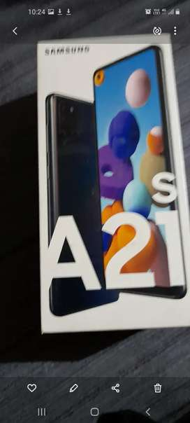 sumsung galaxy A21s 4g ram rom 64