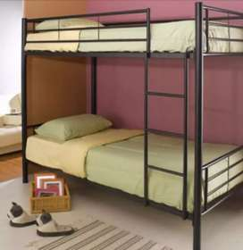 Double iron bnk bed