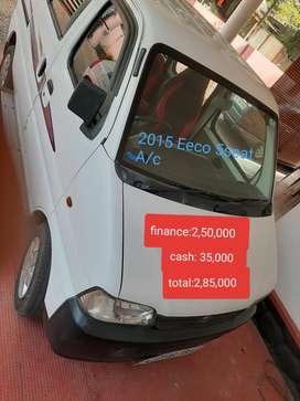 Maruti Suzuki Eeco 5 STR WITH A/C+HTR, 2015, Petrol
