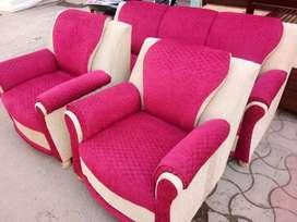 Sofa set five seated high quality