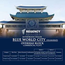 Blue world city commercial overseas block